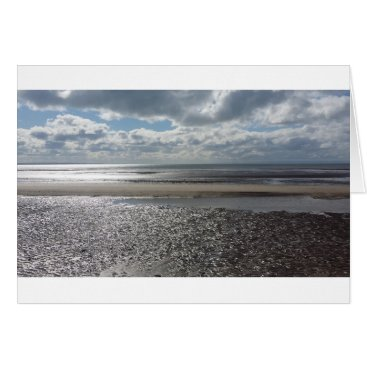 "Beach Themed Potential Summer - Standard (5"" x 7"") Greetings Card"