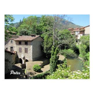Potes, Asturias, Spain Postcard