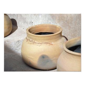 Potes del grano de Tumacacori Fotografía