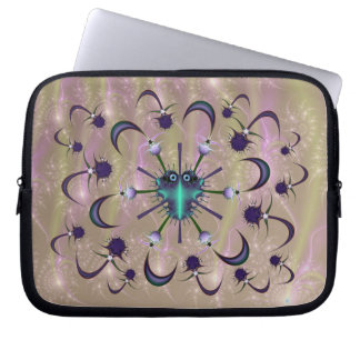 Potex Bug and Anti-Virus  Laptop Sleeve