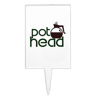 Pothead Cake Topper