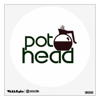 Pothead Wall Sticker