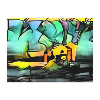Pothole Canvas Print