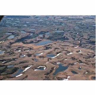 Potholes in Wetlands, (Aerials) Photo Cut Outs