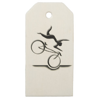 potholing for agrophobics wooden gift tags
