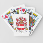 Potier Family Crest Deck Of Cards