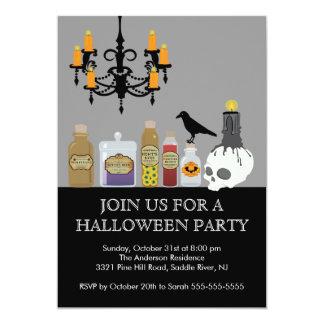 Potion & Spells Halloween Party Invitation