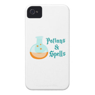 POTIONS AND SPELLS iPhone 4 COVERS