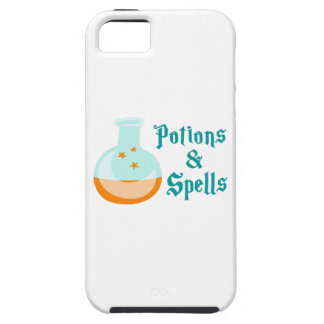 POTIONS AND SPELLS iPhone 5 COVERS