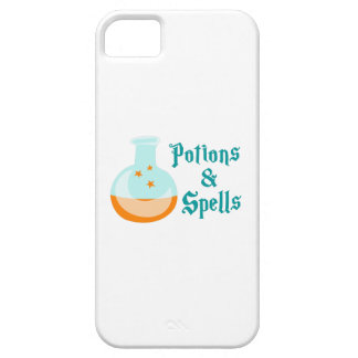 POTIONS AND SPELLS iPhone 5 CASE