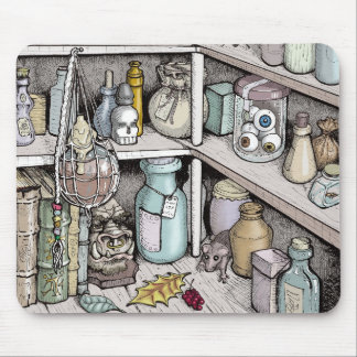 Potions Cabinet Mouse Pad