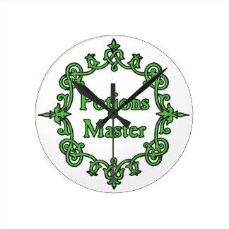Potions Master - Wall Clock #1