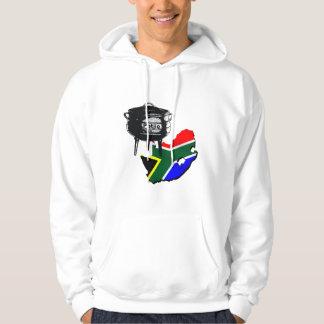 Potjiekos lovers South African flag gifts Hooded Sweatshirt