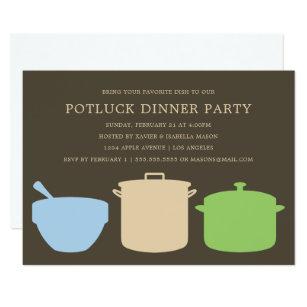 potluck dinner party invite