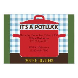 Potluck invitations zazzle potluck invitation thecheapjerseys Image collections