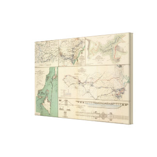 Potomac Army operations Canvas Print