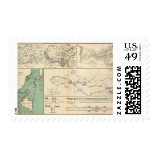 Potomac Army operations Postage Stamp