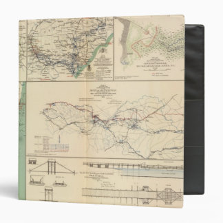 Potomac Army operations Vinyl Binders