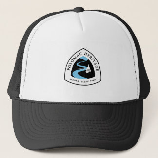 Potomac Heritage Trail Sign, USA Trucker Hat