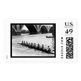 Potomac Lady Racing Shell 1919 Postage