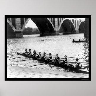 Potomac Lady Racing Shell 1919 Poster