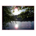 Potomac Summer Day Post Card