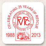 Potomac Valley Pekingese Club Rescue Drink Coaster