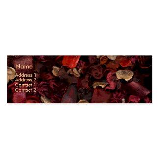 Potpourri (1) mini business card