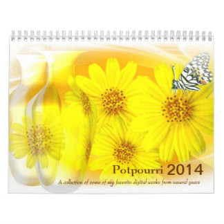 Potpourri 2014 calendar