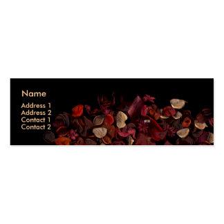 Potpourri (3) mini business card