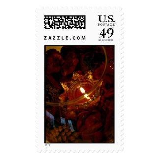 Potpourri Candle Postage Stamp