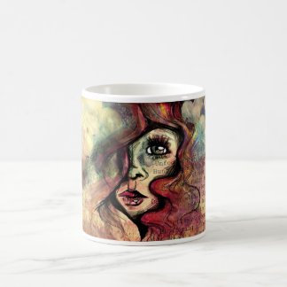 potpourri classic white coffee mug