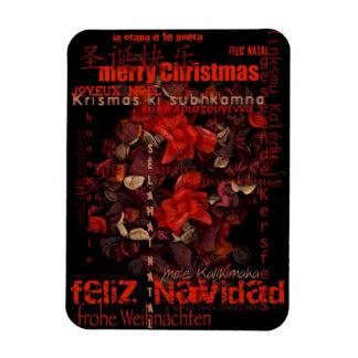 Potpourri World Christmas Navidad Noel P Magnet