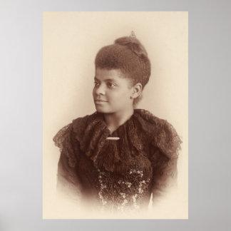 Potrait de Ida B. Wells de Maria Garrity (1893) Póster