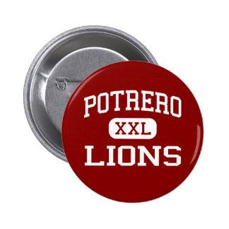 Potrero - Lions - Junior - South El Monte Pinback Buttons