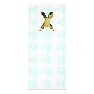 Potro ágil del monograma X modificado para Lonas Personalizadas