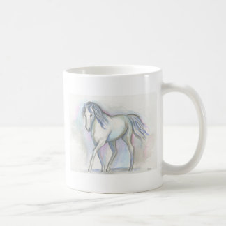 Potro blanco taza