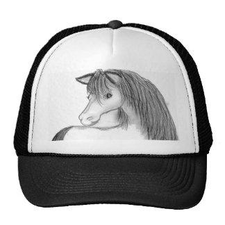 Potro bosquejado gorras de camionero