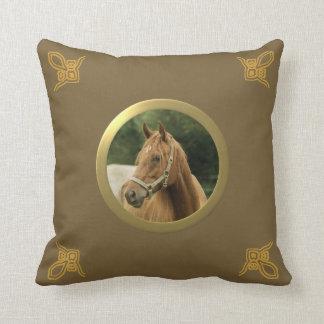 Potro, caballo u otro adaptable foto de la memoria almohada