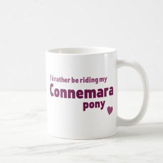 Potro de Connemara Tazas De Café