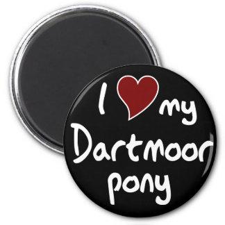 Potro de Dartmoor Imán De Nevera