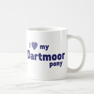 Potro de Dartmoor Tazas