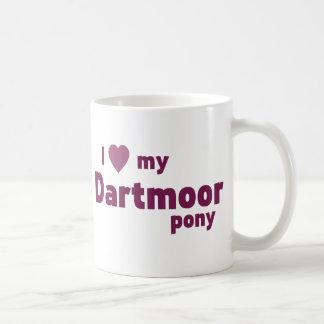 Potro de Dartmoor Tazas De Café