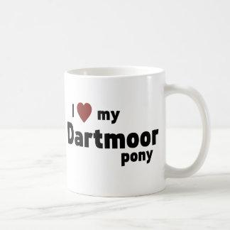 Potro de Dartmoor Taza De Café