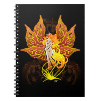 Potro de la hada de Phoenix Libros De Apuntes