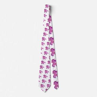 potro de la púrpura del kawaii corbata