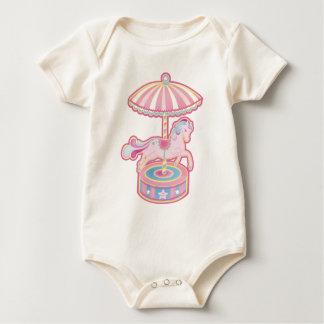 Potro del carrusel body de bebé
