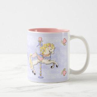 Potro del carrusel taza