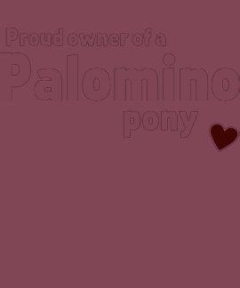 Potro del Palomino Camisetas