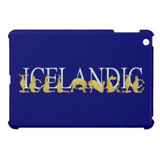 Potro flexible islandés del alfabeto